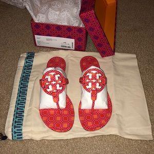 🌸Tory Burch🌸 Miller Printed Flat Thong Sandal